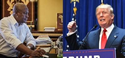 Ghana-USA: Mahama à Trump, le monde serait « chaotique » si les intérêts nationaux priment