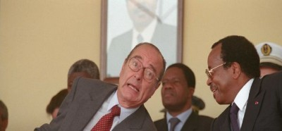 Cameroun-France: Chirac, Biya et les camerounais