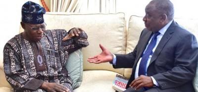 Nigeria-Afrique du Sud: Confidences de Ramaphosa à Obasanjo sur les violences xénophobes