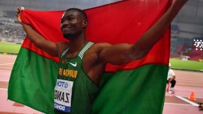 Burkina Faso: Triple saut, Hugues Fabrice Zango, médaillé de bronze au championnat du monde