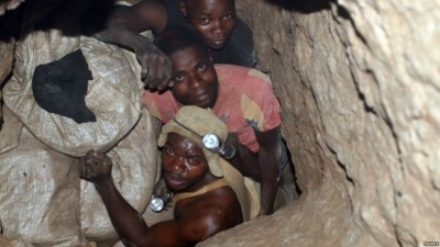 RDC: 14 morts  au moins dans l'éboulement d'une mine d'or artisanale dans l'est