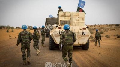 Mali: Attaques jihadistes contre des casques bleus, 1 mort et cinq blessés