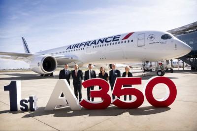 Côte d'Ivoire: Arrivée ce lundi 7 octobre 2019 du tout nouveau airbus A350 d'Air France à Abidjan