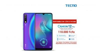 Côte d'Ivoire:  Le Tecno Camon 12 PRO est déjà disponible chez tous les revendeurs