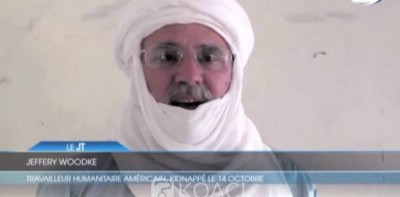 Niger:   L'otage américain Jeffery Woodke  est en vie et en « bonne santé », assure le président Issoufou
