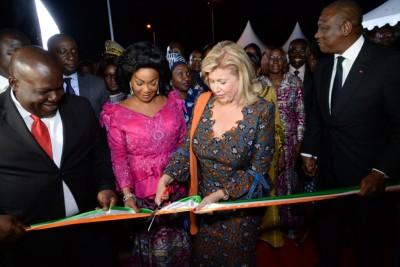 Côte d'Ivoire: Lutte contre le réchauffement climatique, la première dame inaugure  le parc urbain  et la fontaine Dominique Ouattara