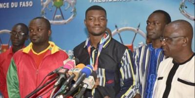 Burkina Faso: 10 millions FCFA pour Hughes Fabrice Zango, médaillé de bronze aux mondiaux d'athlétisme