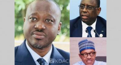 Sénégal-Côte d'Ivoire: « Victime » d'une tentative d'arrestation en Espagne, Soro interpelle Macky Sall et Buhari