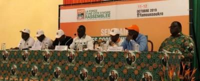 Côte d'Ivoire: Voici les grandes décisions prises par le RHDP lors du séminaire des c...