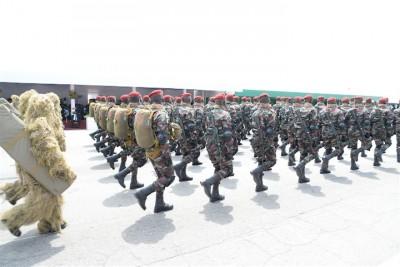 Côte d'Ivoire: Avant le meeting du PDCI à Yamoussoukro, près de 300 soldats en exercice militaire dans la zone