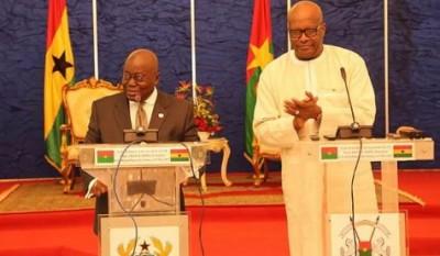 Burkina Faso: Le Ghana offre 110 millions FCFA  pour la crise humanitaire née de la m...
