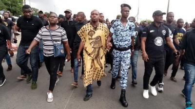 Côte d'Ivoire: Assassinat de l'étudiant Brice Dah, la Fesci marche à Cocody, voilà ce...