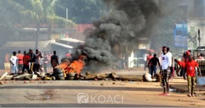 Guinée: Les manifestations anti-3ème mandat  ont déjà fait neuf morts et des dizaines de blessés
