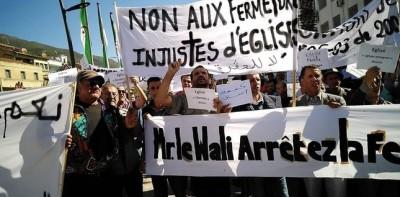 Algérie: Indignation après la fermeture de  trois églises protestantes dont la plus grande du pays