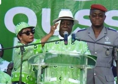 Côte d'Ivoire: Giga meeting du PDCI-RDA à Yamoussoukro, première «déconvenue » entre...