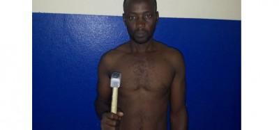 Côte d'Ivoire: Un homme de 40ans et un peintre, arrêtés en plein vol de nuit