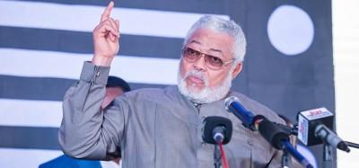 Ghana:  Rawlings révèle les menaces d'assassinat subies après sa passation de pouvoir...