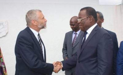 Côte d'Ivoire: Le nouvel Ambassadeur des Etats-Unis fait connaissance avec «le reconnu» Affi N'Guessan