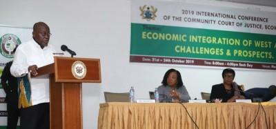 Ghana:  Akufo-Addo décèle un mal dans la CEDEAO et prône un correctif