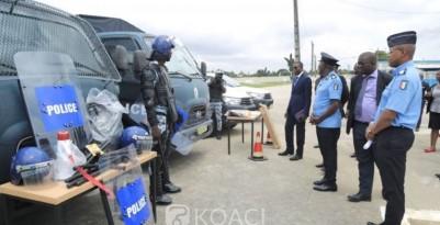 Cote d'Ivoire: L'école de police dotée de véhicules d'interventions et du matériel  d...