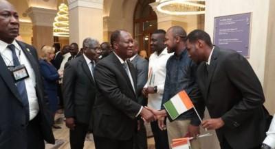 Côte d'Ivoire: Ouattara en Russie, c'est la toute première visite d'un Chef d'Etat iv...