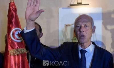 Tunisie:    Kaïs Saïed  officiellement Président