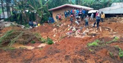 Cameroun: Une soixantaine de morts et de disparus dans un glissement de terrain à Bafoussam