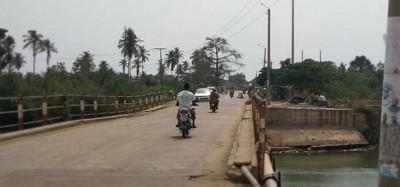 Togo : Pont de Zébé opérationnel, restriction et inquiétude d'un ingénieur
