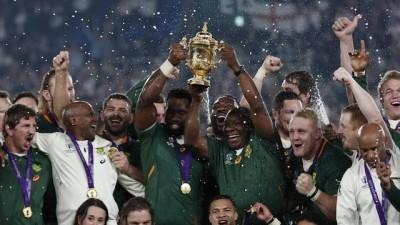 Afrique du Sud: Mondial de Rugby, les Springboks écrasent les anglais avec un score de 32 à 12