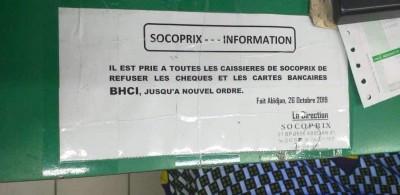 Côte d'Ivoire: Un hypermarché refuse tous les chèques et carte bancaires de la BHCI