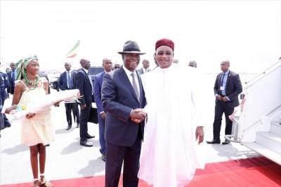 Côte d'Ivoire: Départ d'Alassane Ouattara à Niamey pour un Sommet extraordinaire de la CEDEAO