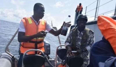 Côte d'Ivoire: La Marine nationale s'exerce pour lutter  contre la  pollution maritime