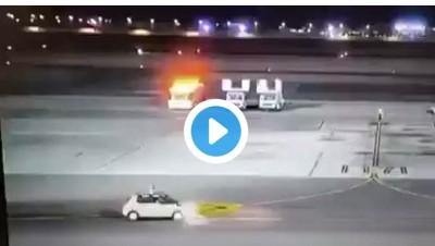 Egypte: Un avion atterri avec l'un de ses pneus en feu, aucune victime