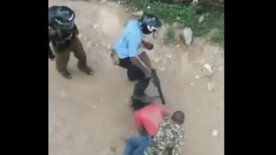Kenya: Choc après la diffusion d'une vidéo d'un étudiant molesté par des policiers