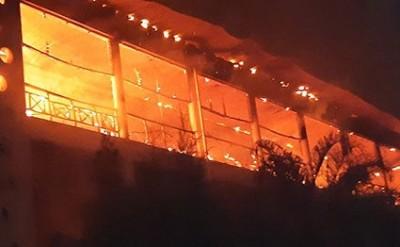 Kenya: L'hôpital de Mombasa en feu suite à l'explosion d'une bonbonne de gaz, aucune victime