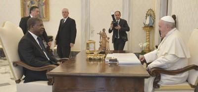 Angola: João Lourenço s'engage au Vatican pour les réformes