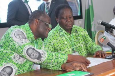 Côte d'Ivoire: Communiqué final de la onzième réunion du bureau politique du PDCI-RDA