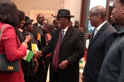 Côte d'Ivoire: Alassane Ouattara est arrivé à Berlin pour la Conférence sur le parten...