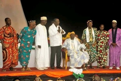 Côte d'Ivoire: Bouaké, affaire Mangoua tabou à une cérémonie fait grogner des chefs t...