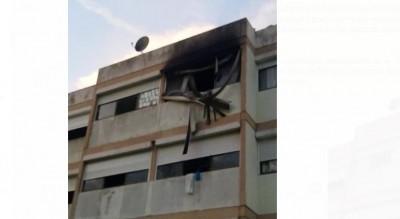 Côte d'Ivoire: Au campus de Cocody, la chambre d'une étudiante part en fumée suite à un incendie
