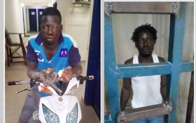 Côte d'Ivoire: Deux individus appréhendés juste après avoir braqué un domicile à Bonon