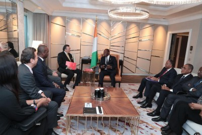 Côte d'Ivoire: Avant de s'envoler pour Paris, à Berlin, Alassane Ouattara s'entretient avec Horst Kölher et Mario Ohoven