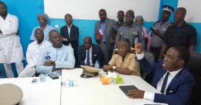 Côte d'Ivoire:  Hambol, à moins d'une semaine de la visite d'Etat de Ouattara, le min...