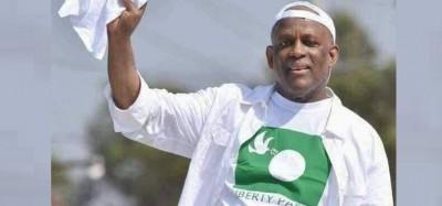 Liberia: Décès de l'opposant Walker Brumskine aux USA