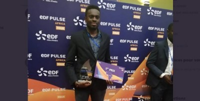 Côte d'Ivoire: La star-up ivoirienne LIFILED remporte le 1er prix du EDF Pulse Africa...