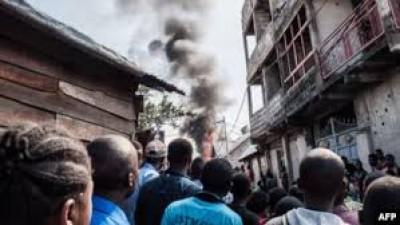 RDC: Un avion s'écrase sur une maison à Goma, au moins 24 morts
