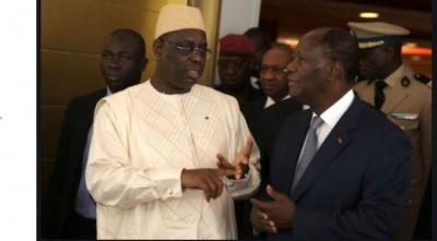 Côte d'Ivoire: Après le Hambol, Alassane  Ouattara s'envolera pour Dakar