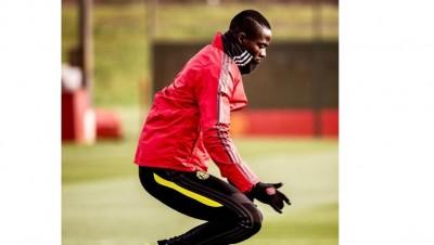 Côte d'Ivoire: Blessé depuis 4 mois, l'international ivoirien Eric Bailly a repris l'entraînement avec son club Manchester United