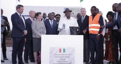 Côte d'Ivoire: Katiola, pose de la première pierre d'un CHR anglais, 34,9 milliards de FCFA et 24 mois de delais