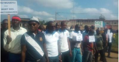 Côte d'Ivoire: Gagnoa, des fonctionnaires dans les rues pour protester contre l'arrimage CMU-MUGEF-CI
